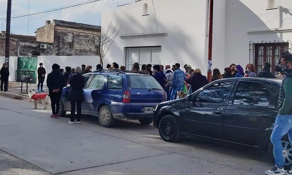 Le dieron el último adiós a Facundo - La Brújula 24
