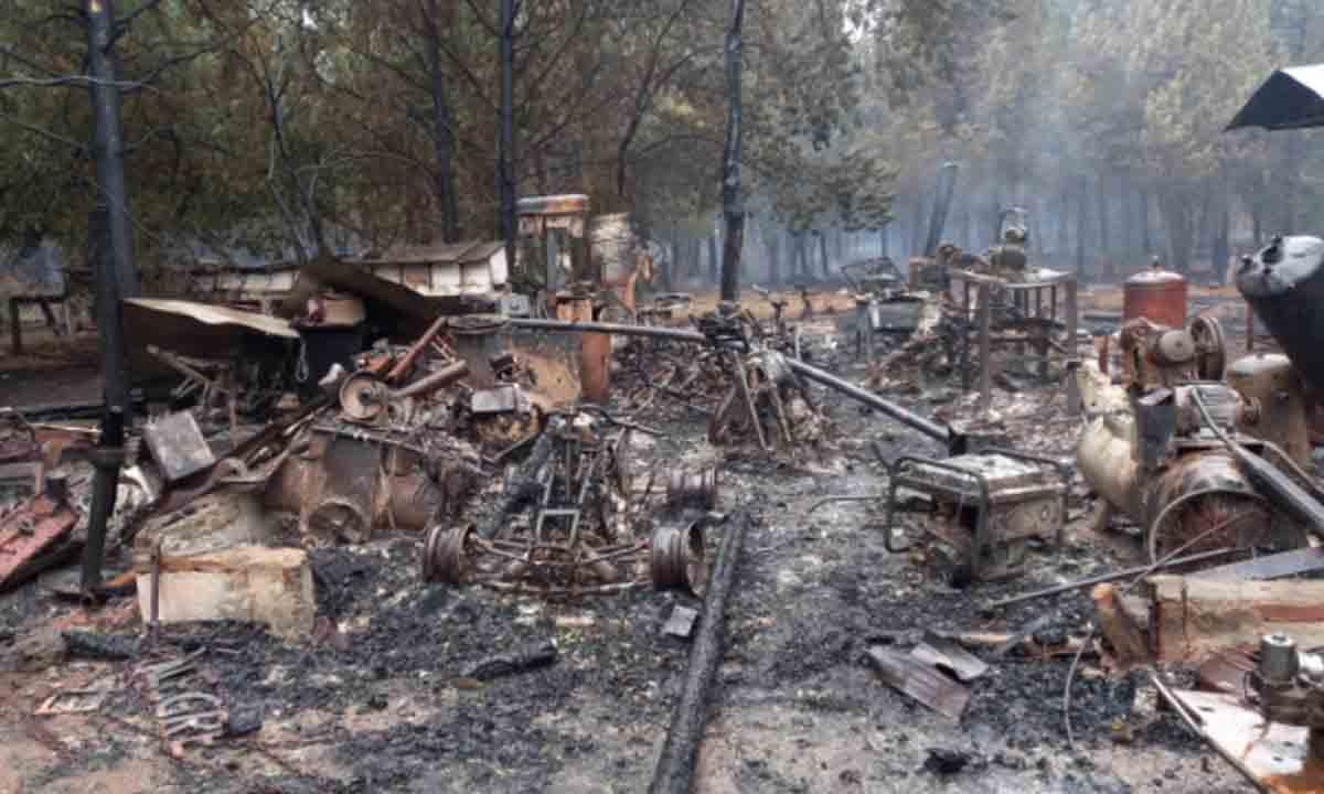 """Fue un infierno"""": el dramático relato de un medanense, víctima de los  incendios en la Patagonia - La Brújula 24"""